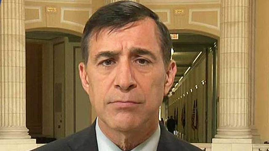 Rep. Darrell Issa sounds off
