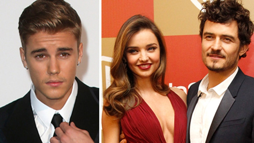 Orlando Bloom and Justin Bieber reportedly fight over Miranda Kerr