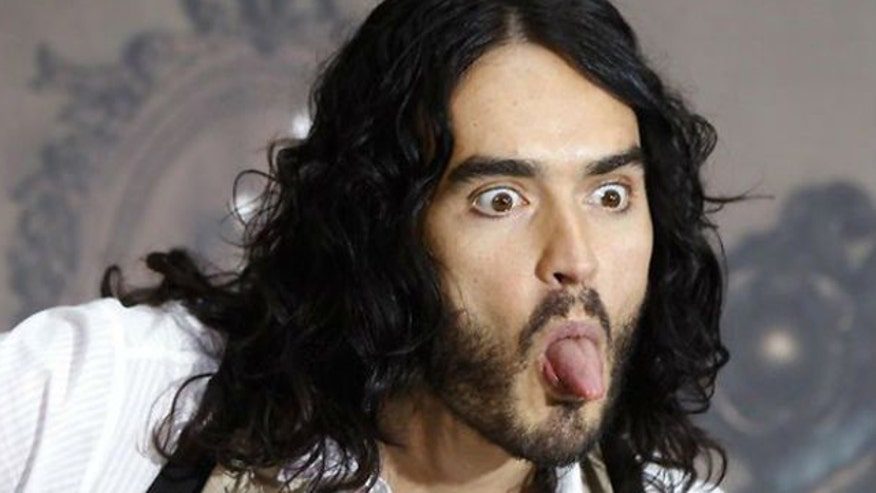 Russell Brand goes on tirade about conflict