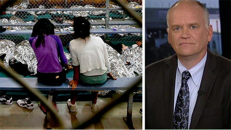 Ron Fournier says both parties in Congress are more interested in fighting than solving the immigration crisis.