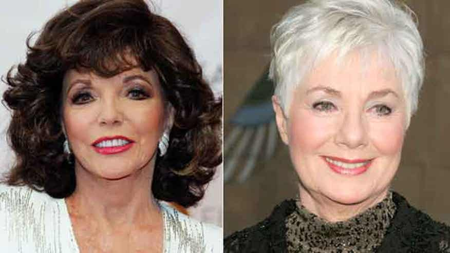 Joan Collins says a sexy scene in Shirley Jones' book is fake