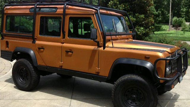 DHS seizes Land Rover over EPA regulations