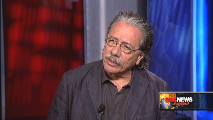 "Edward James Olmos talks about Latinos in Hollywood, ""Argo,"" Ben Affleck and more with FNL."