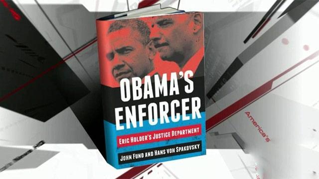 Hans Von Spakovsky discusses new book about Eric Holder