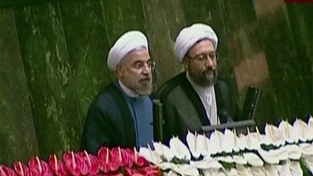 Hasan Rowhani inaugurated as Iran's new president