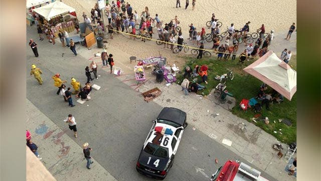 Authorities seek answers to Venice Beach horror