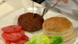 World's first hamburger grown in a lab.
