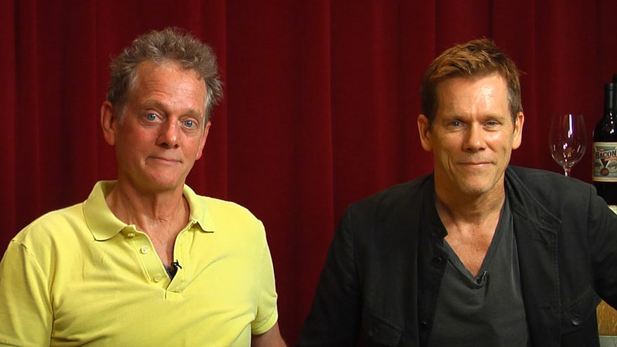Kevin and Michael Bacon on performing together and their new album.