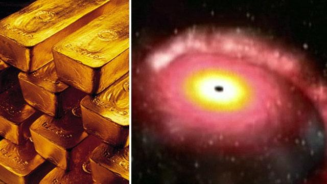 Cosmic blasts may explain origin of gold