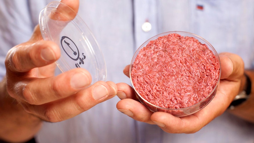 Scientists unveil world's first test tube patty