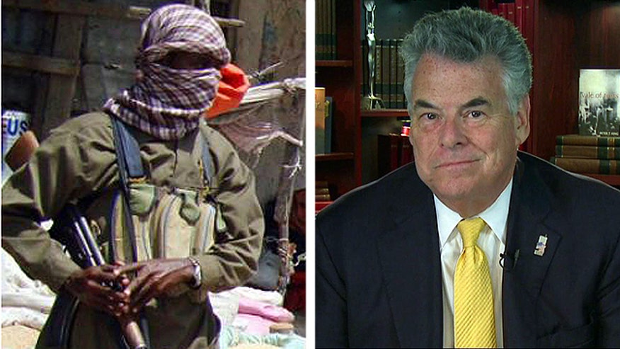 Rep. Peter King reacts to the al Qaeda intelligence