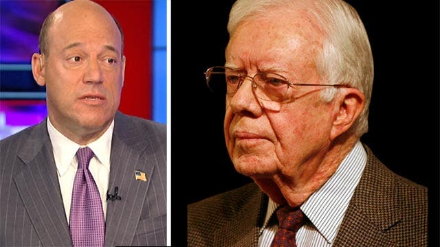 Former President Carter calls on US to recognize Hamas