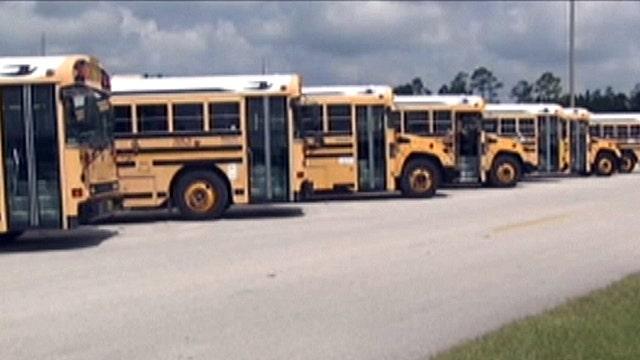 Two school buses stolen from Fla. parking garage