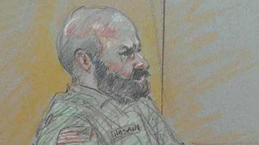 Suspect says 'I am the shooter' massacre at Fort Hood court-martial