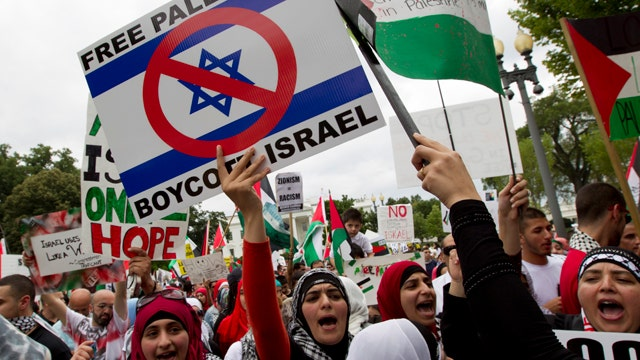 Are anti-Israel protests an excuse for anti-Semitism?