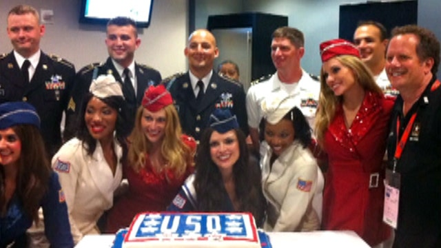 Sequester can't stop USO, Mets from honoring heroes