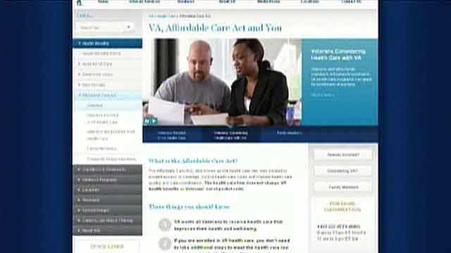 Informational campaign to inform vets about ObamaCare