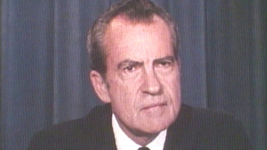 August 8, 1974: Richard Nixon tells the nation that he will resign as the 37th president of the United States