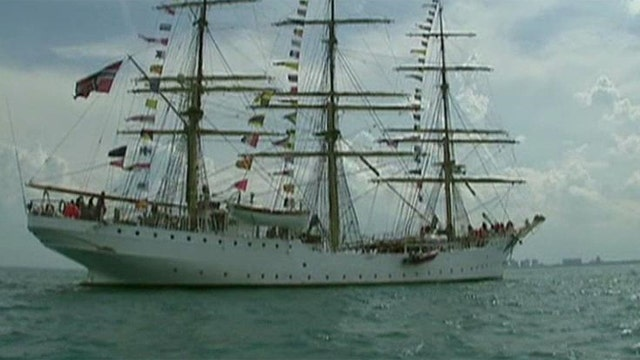 Chicago's Navy Pier hosts historic tall ships event