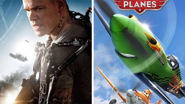 Will 'Elysium' soar this weekend while 'Planes' crashes?