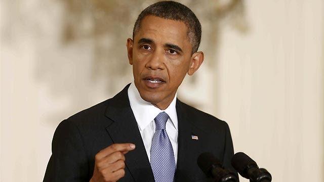 President Obama addresses NSA program at news conference
