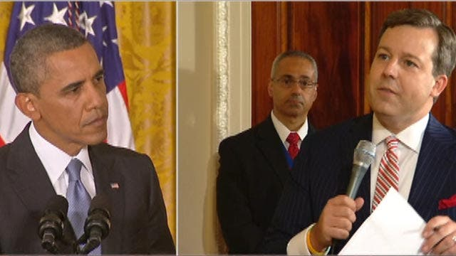 President answers questions on ObamaCare, Benghazi probe
