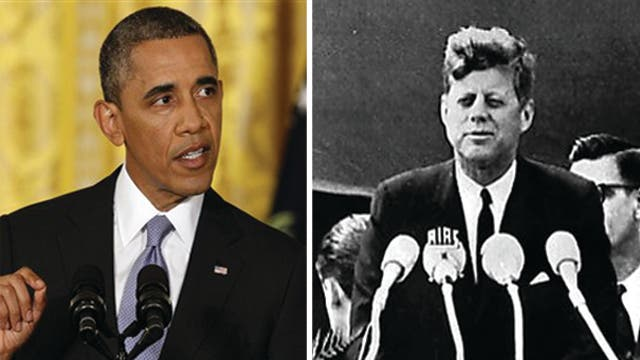 Why President Obama should take cue from JFK