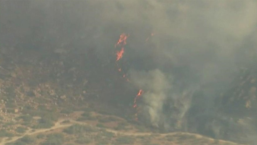 Officials says fire is 25 percent contained