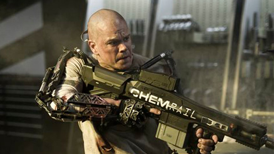 Variety: 'Elysium' one of the 'more openly socialist political agendas of any Hollywood movie in memory'