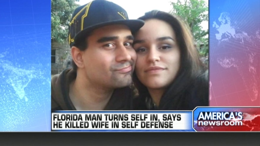 Derek Medina shot his wife in his South Miami kitchen and then posted a photo of her body on Facebook.