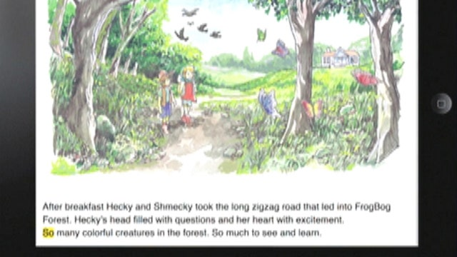 Interactive reading app keeps kids reading during summer