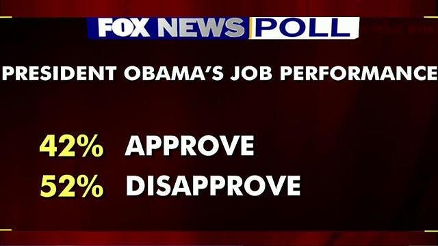 President Obama takes a major hit in the polls