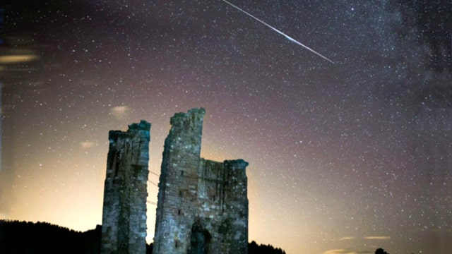 Annual Perseid meteor shower lights up night sky