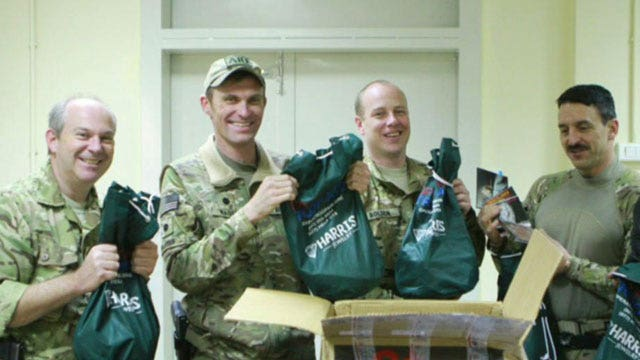 Operation Troop Aid sends care packages to US soldiers
