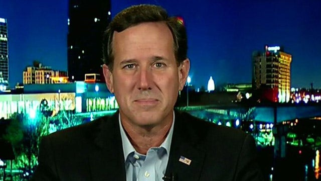 Santorum keeping his options open for 2016?