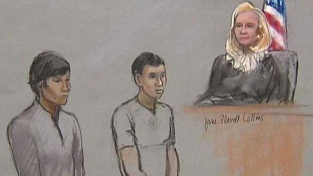 Marathon bombing suspect's friends face charges