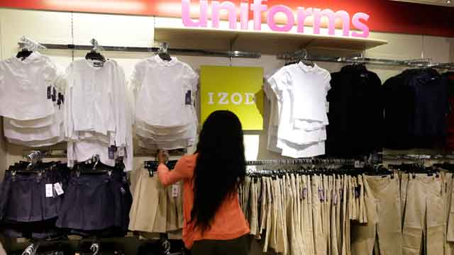 Americans spending more at retail stores?