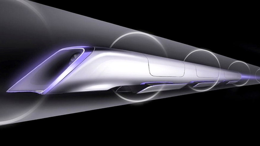 Hyperloop capsule would fire passengers at speeds of over 700 miles per hour