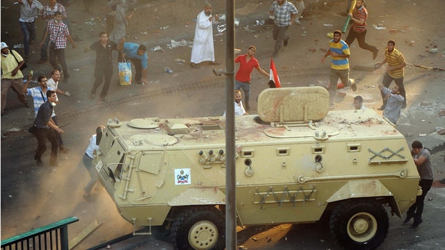 More than 100 killed in deadly clashes across Egypt