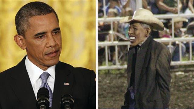 Gutfeld: Will Obama push to save rodeo clown's job?