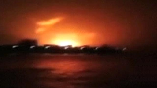 Submarine explodes, partly sinks in India
