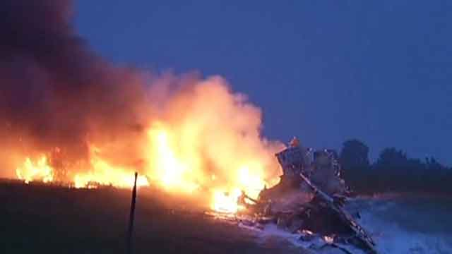 Two dead after UPS cargo plane crashes in Alabama