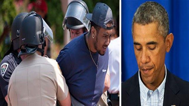 President Obama, Gov. Nixon appeal for calm in Ferguson