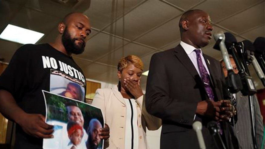Attorney Benjamin Crump reacts to the President's comments on the violence in Ferguson, Missouri