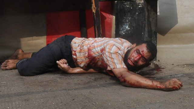 Bloodshed in the streets of Cairo