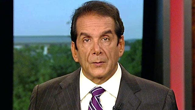 Krauthammer On Transparency Of Clinton Foundation