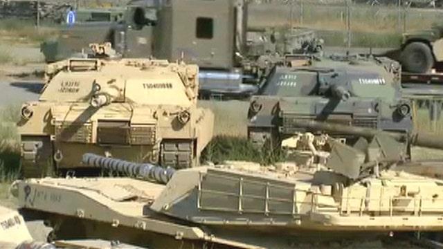 Military surplus sale: Unloading unused war equipment