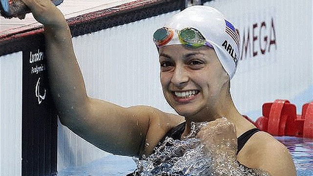 Swimming champ banned from Paralympics