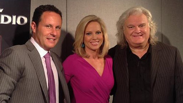 Shannon Bream and Ricky Skaggs