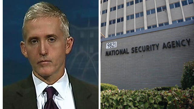 Gowdy: People are 'scared, distrustful' of government